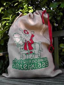 eerlijke zak van Sinterklaas
